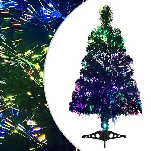 vidaXL Künstlicher Weihnachtsbaum Glasfaser 64 cm Grün