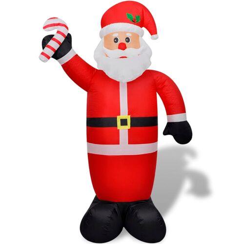 vidaXL Aufblasbarer Weihnachtsmann 240 cm