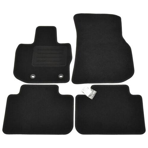 vidaXL 4-tlg. Autofußmatten-Set für BMW X4 (G02)