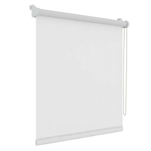 Decosol Rollo Mini Lichtdurchlässig Uni Weiß 87 x 160 cm