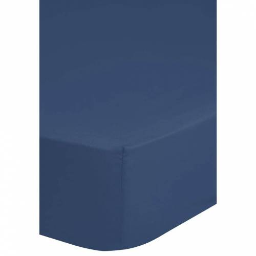 Emotion Spannbettlaken Jersey 160/180x200 cm Blau 0200.24.46