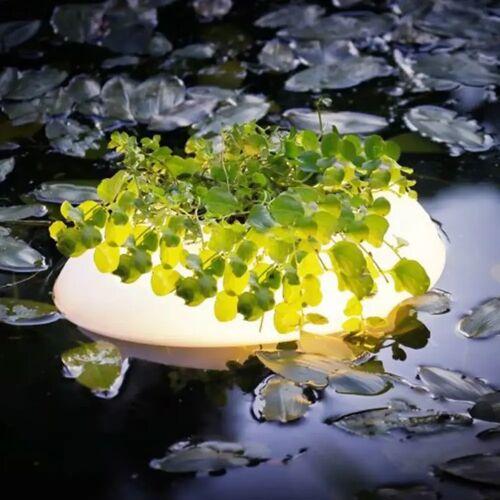 Velda Schwimmende Teichbeleuchtung 3 W Weiß Oval