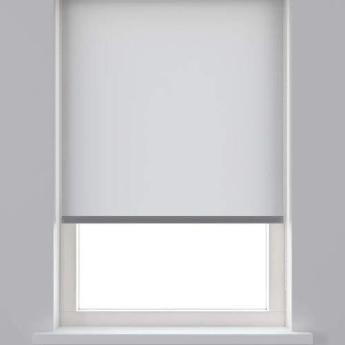 Decosol Rollo Lichtdurchlässig Weiß 90 x 190 cm