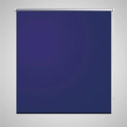 vidaXL Verdunkelungsrollo Verdunklungsrollo 80 x 175 cm blau