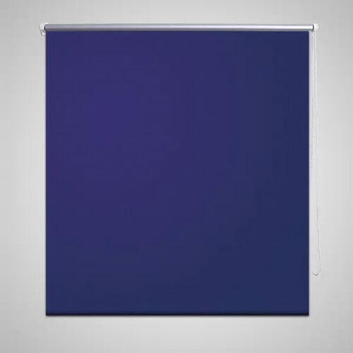 vidaXL Verdunkelungsrollo Verdunklungsrollo 100 x 175 cm blau