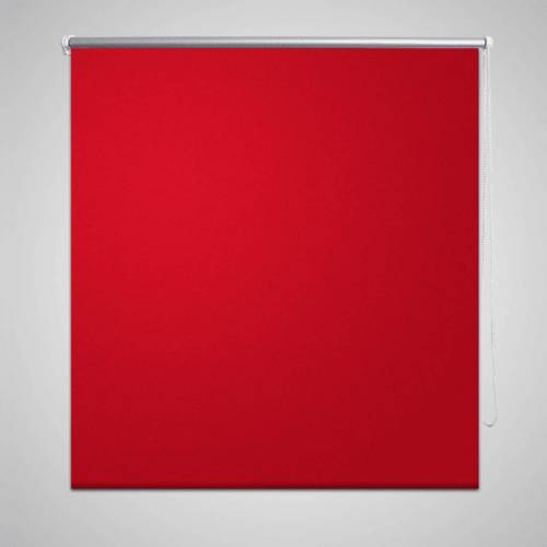 vidaXL Verdunkelungsrollo 120 x 175 cm rot