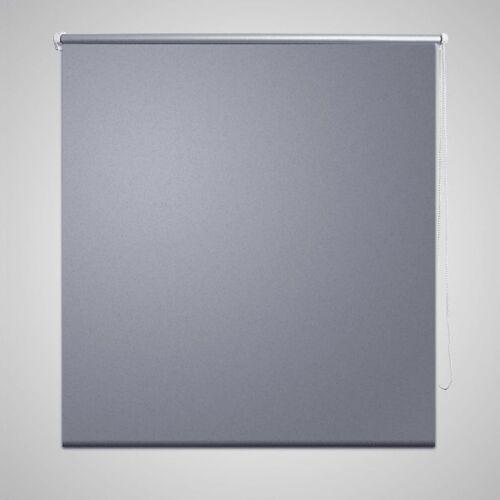 vidaXL Verdunkelungsrollo Verdunklungsrollo 120 x 175 cm grau