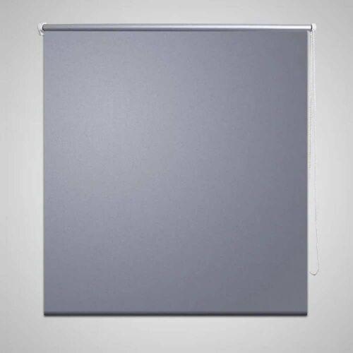 vidaXL Verdunkelungsrollo Verdunklungsrollo 160 x 175 cm grau