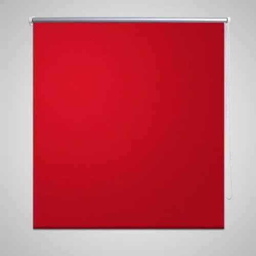 vidaXL Verdunkelungsrollo 80 x 230 cm rot