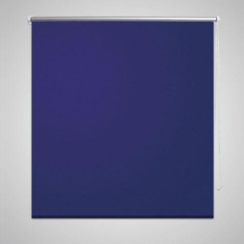 vidaXL Verdunkelungsrollo Verdunklungsrollo 100 x 230 cm blau