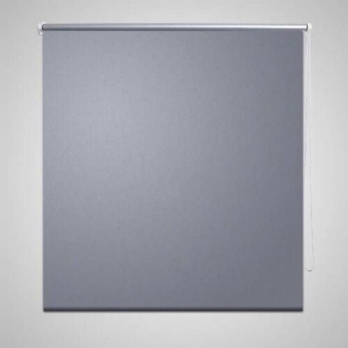 vidaXL Verdunkelungsrollo Rollo 120 x 230 cm grau