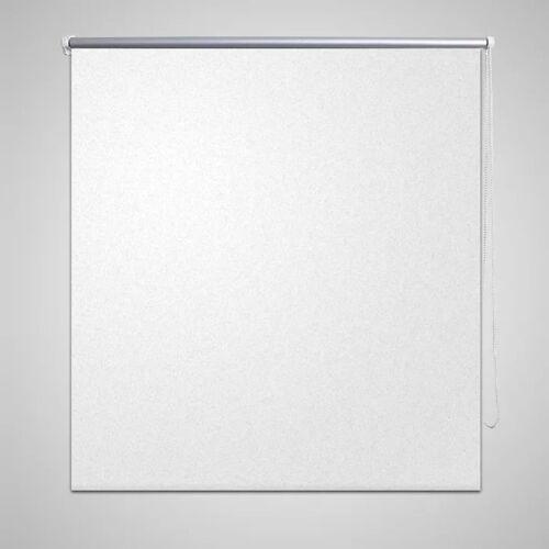vidaXL Verdunkelungsrollo Verdunklungsrollo 140 x 230 cm weiß