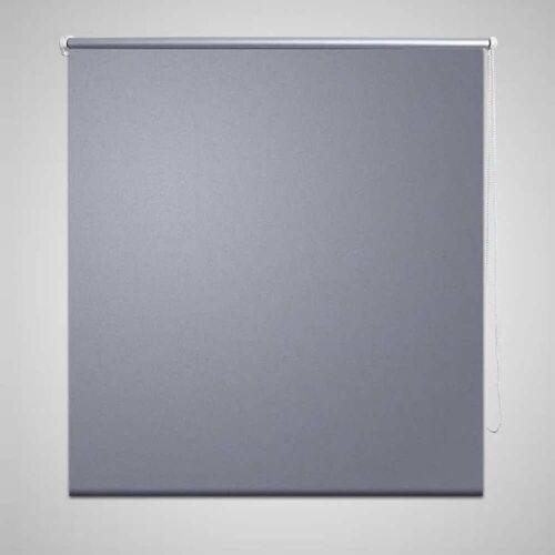 vidaXL Verdunkelungsrollo Verdunklungsrollo 140 x 230 cm grau