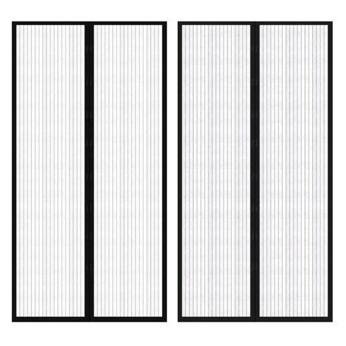 vidaXL 2x Insektenschutz Türvorhang Fliegennetz Mückenschutz