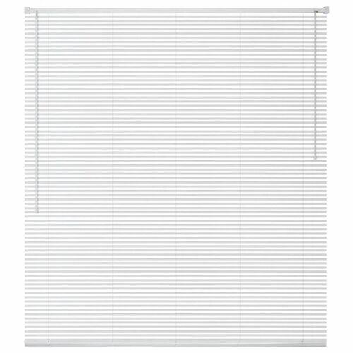 vidaXL Fensterjalousien Aluminium 60x130 cm Weiß