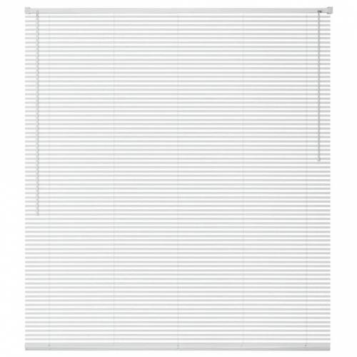 vidaXL Fensterjalousien Aluminium 80x160 cm Weiß