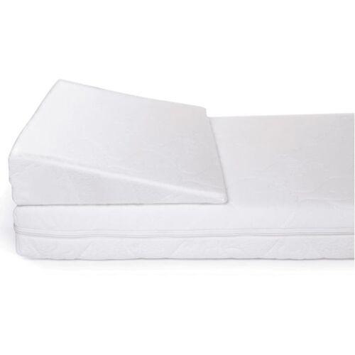 CHILDHOME Reflux Keilkissen Heavenly 60×120 cm Weiß