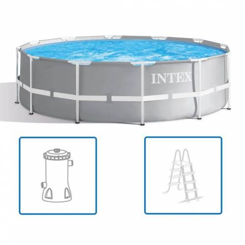 Intex Prism Frame Swimmingpool-Set 366 x 99 cm 26716GN