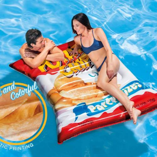 "Intex Pool-Matratze ""Potato Chips"" 178×140 cm 58776EU"