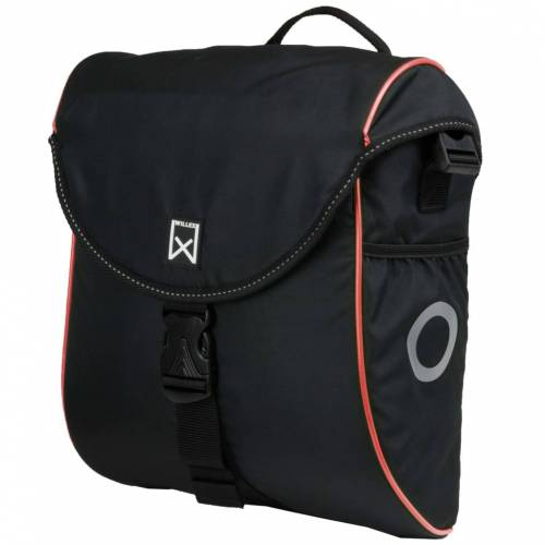 Willex Fahrradtasche 300 S 12 L Schwarz und Rot
