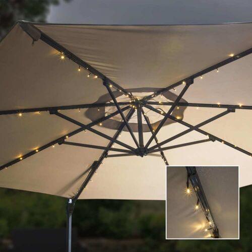 HI Solar-LED-Lichterkette für Sonnenscrme 130 cm