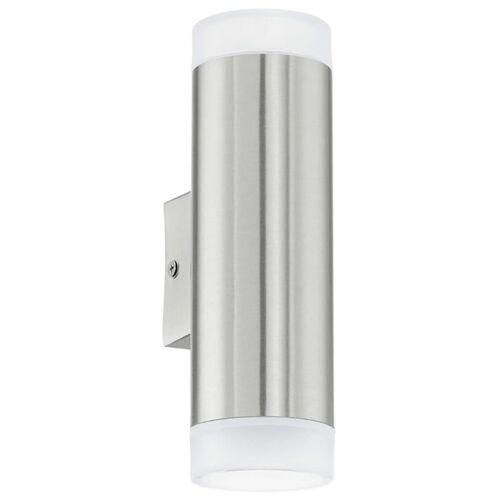 EGLO LED-Außenwandleuchte Riga 1 Silber 6 W 92736