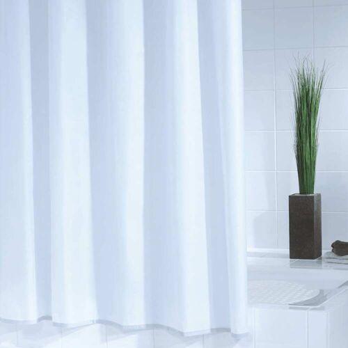 RIDDER Duschvorhang Standard 180×200 cm Weiß
