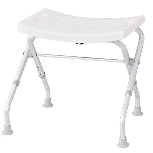 RIDDER Klappbarer Badhocker 150 kg Weiß A0050301