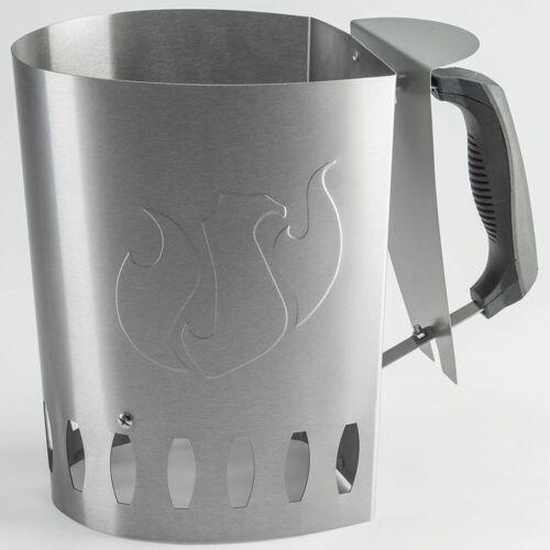Landmann Grillkohle Anzündkamin Silber 15200