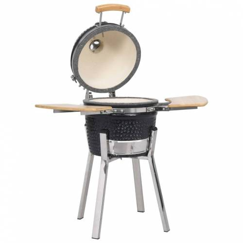 vidaXL Kamado Grill BBQ Smoker Keramik 81 cm