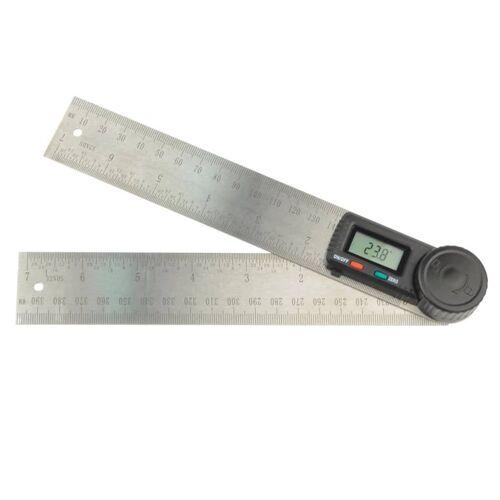 Brüder Mannesmann Elektronischer Winkelmesser 200 mm 81220