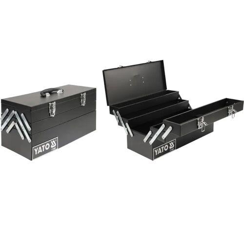 YATO Werkzeugkoffer Stahl 460×200×225 mm