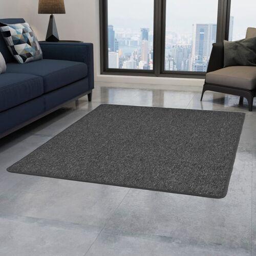 vidaXL Teppich Getuftet 80 x 150 cm Grau