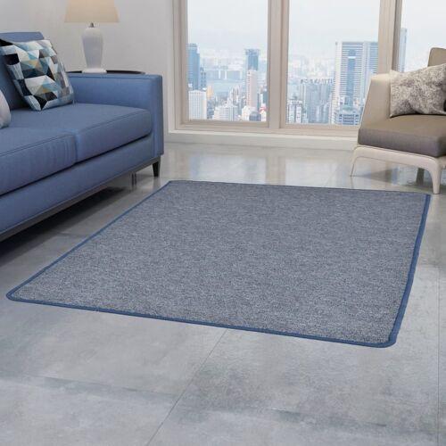 vidaXL Teppich Getuftet 80 x 150 cm Blau
