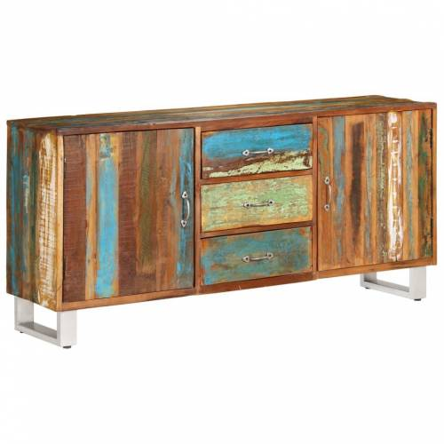 vidaXL Sideboard Altholz Massiv 160 x 40 x 76 cm