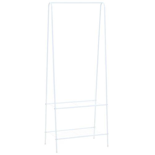 vidaXL Kleiderständer 59 x 35 x 150 cm Weiß