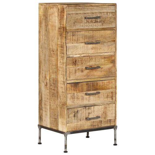 vidaXL Kommode 45 x 35 x 106 cm Mango-Massivholz
