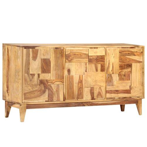 vidaXL Sideboard 145×40×76 cm Massivholz Palisander