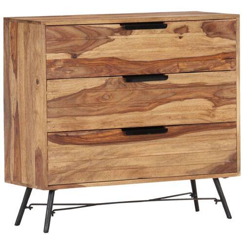 vidaXL Sideboard 80 x 30 x 75 cm Massivholz Palisander