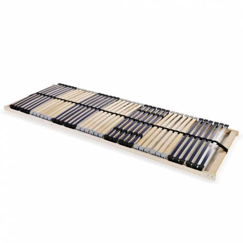 vidaXL Lattenrost mit 42 Latten 7 Zonen 70 x 200 cm