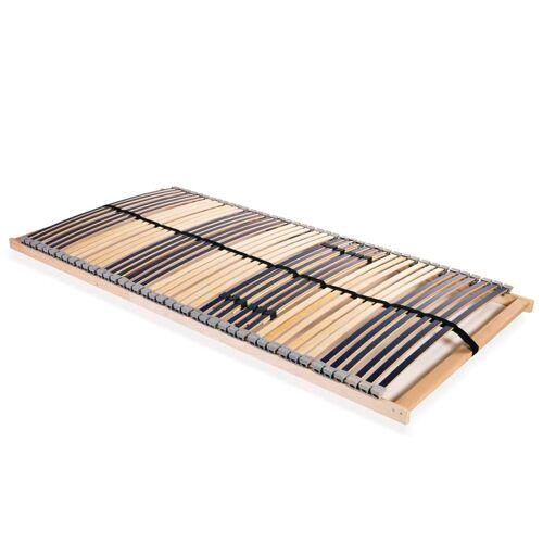 vidaXL Lattenrost mit 42 Latten 7 Zonen 120 x 200 cm