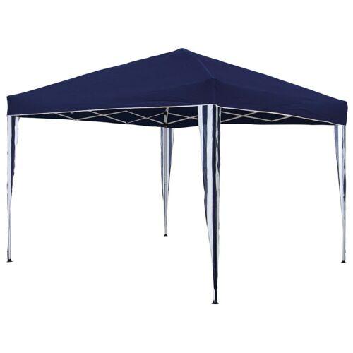 HI Faltbares Partyzelt 3 x 3 m Blau