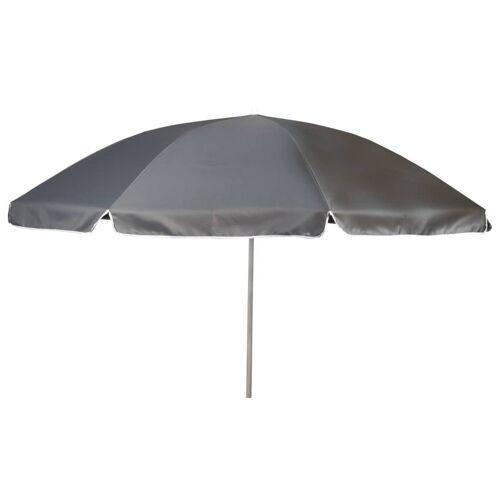 Bo-Camp Sonnenschirm 165 cm Grau