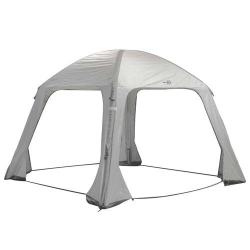 Bo-Camp Aufblasbares Partyzelt Air Gazebo 365×365 cm Grau