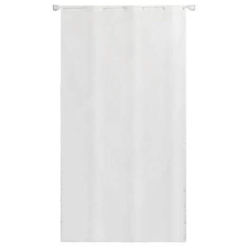 vidaXL Senkrechtmarkise Oxford-Gewebe 140×240 cm Weiß