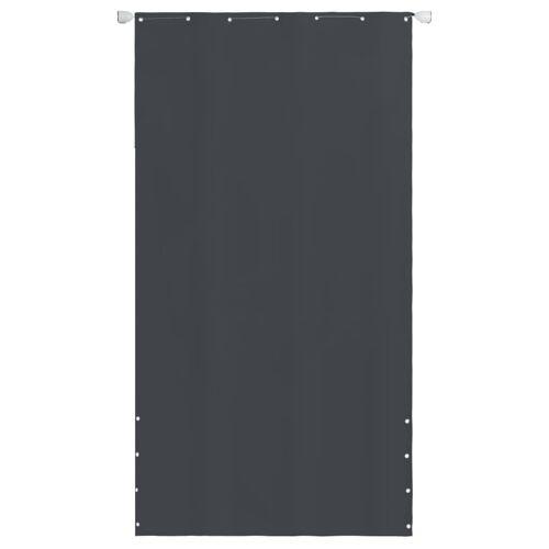 vidaXL Senkrechtmarkise Oxford-Gewebe 140×240 cm Grau