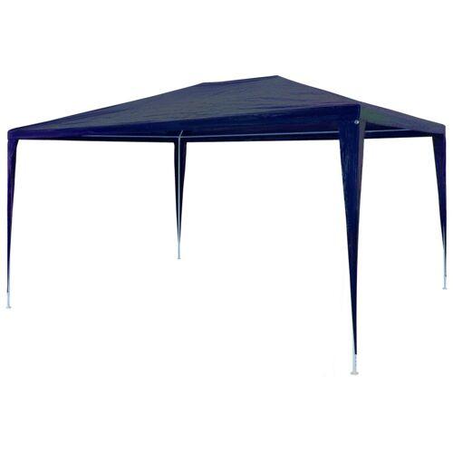 vidaXL Partyzelt 3 x 4 m PE Blau