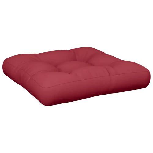 vidaXL Auflagen Sitzpolster Polster Sitzkissen 60 x 60 x 10 cm Rot