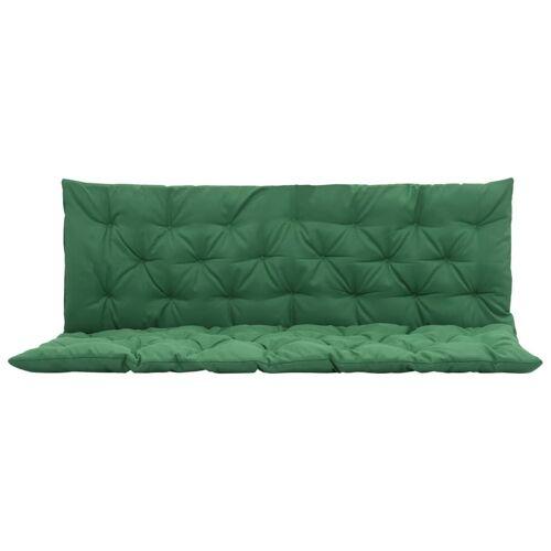vidaXL Grünes Schaukelstuhl-Sitzkissen 150 cm
