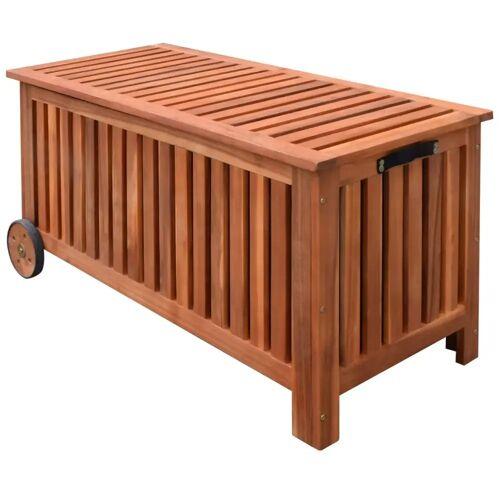 vidaXL Garten-Aufbewahrungsbox 118×52×58 cm Holz